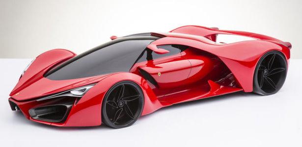 Ferrari F80 Konzept